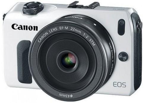 Firmware mới giúp Canon EOS M lấy nét nhanh hơn 2 lần