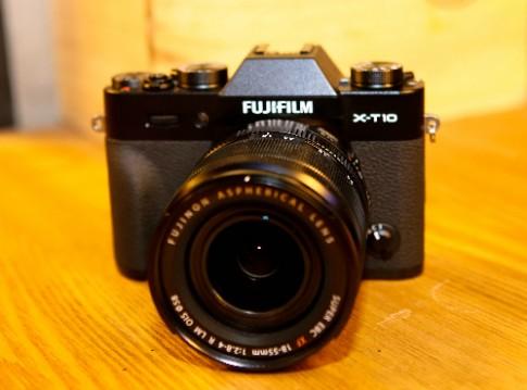 Fujifilm X-T10 về Việt Nam giá từ 16,9 triệu đồng