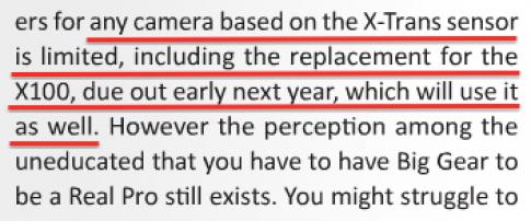 Fujifilm X200 sẽ dùng cảm biến giống X-Pro1