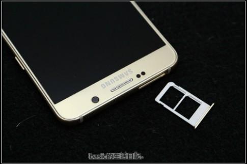 Galaxy Note 5 bản 2 sim lộ ảnh thực tế