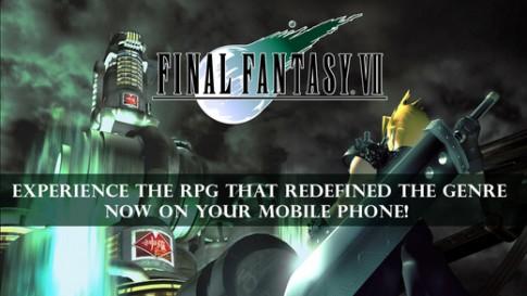 Game nhập vai huyền thoại Final Fantasy VII đã cập bến iOS