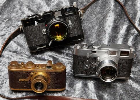 Gần 100 tỷ đồng cho 3 mẫu máy ảnh cổ của Leica