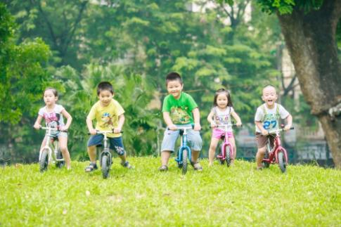 Giải đua xe thăng bằng dành cho trẻ 1-6 tuổi