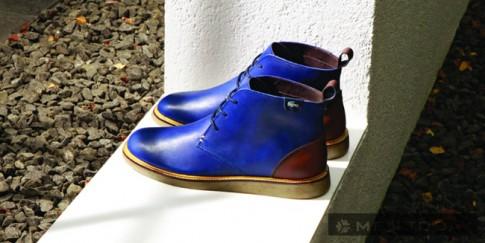 Giày – boots nam thu đông 2013 từ Lacoste Essential Design