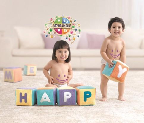 Giúp bé phát triển hệ tiêu hóa và trí não
