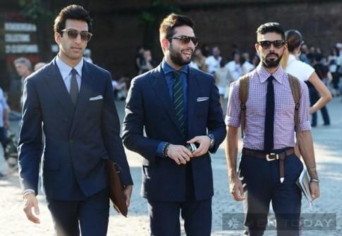 Gợi ý phối màu hài hòa cho cravat và áo sơ mi