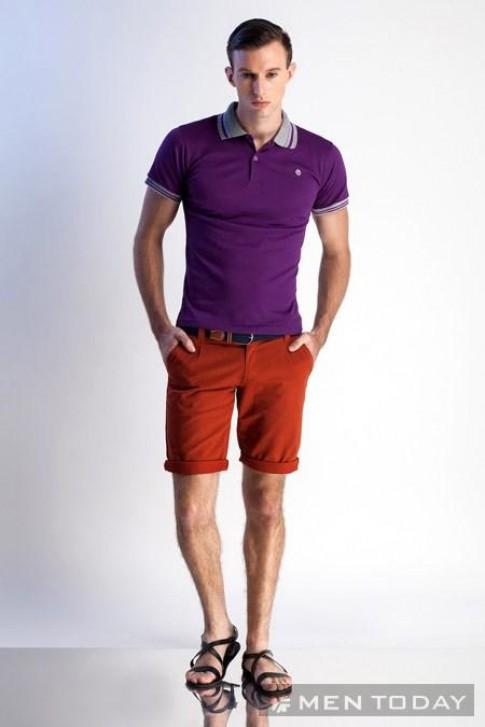 Gợi ý trang phục hè trẻ trung dành cho nam giới