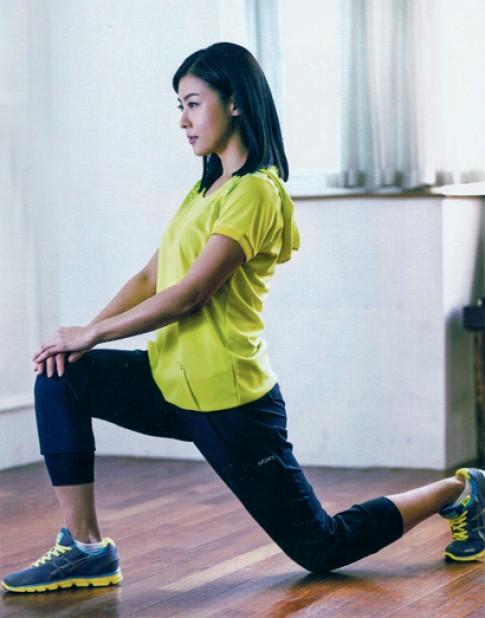Ha Ji Won giảm cân bằng bài tập cardio