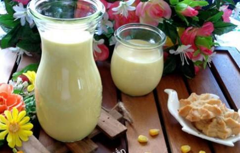 Hai bước tự làm sữa bắp thơm ngon