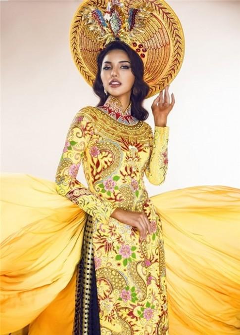 Hé lộ trang phục dân tộc của Khả Trang ở Miss Eco Universe