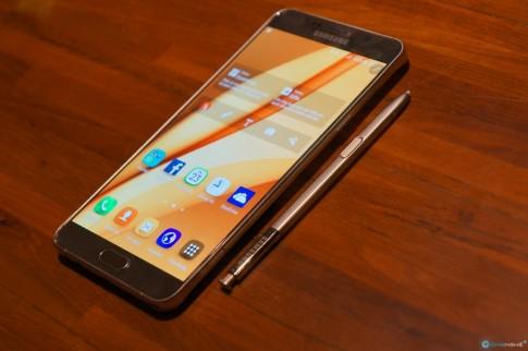 Hình ảnh buổi Offline Samsung Galaxy Note 5 tại TP.HCM