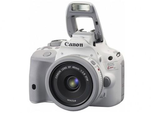 Hình ảnh Canon EOS Kiss X7 phiên bản màu trắng