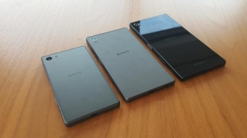Hình ảnh chi tiết của Xperia Z5, Z5 compact và Z5 Premium , camera vẫn không lồi.
