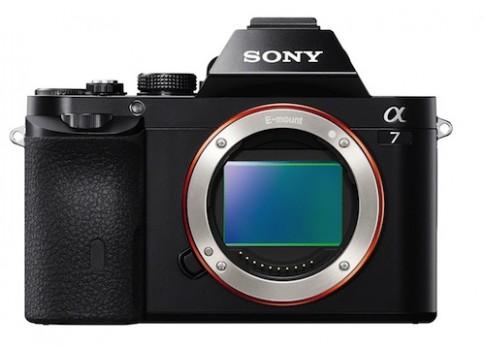 Hình ảnh chính thức của Sony A7