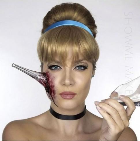 Hình ảnh máu me của các nàng công chúa Disney dịp Halloween