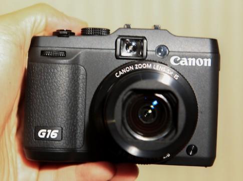 Hình ảnh thực tế Canon G16 tại Việt Nam