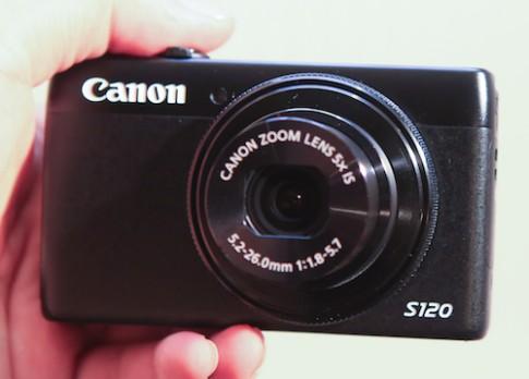 Hình ảnh thực tế Canon S120 tại Việt Nam