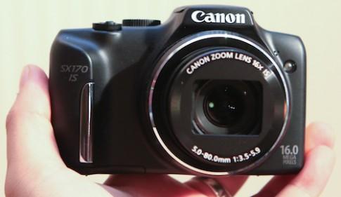 Hình ảnh thực tế CanonSX170 IS tại Việt Nam