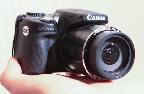 Hình ảnh thực tế CanonSX510 HStại Việt Nam