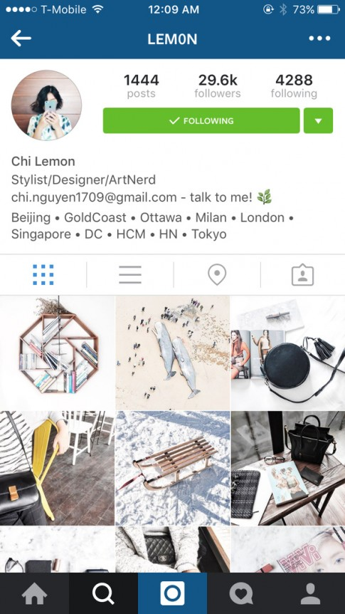 Học chụp hình flatlay tuyệt đẹp từ tài khoản instagram của các bạn trẻ Việt