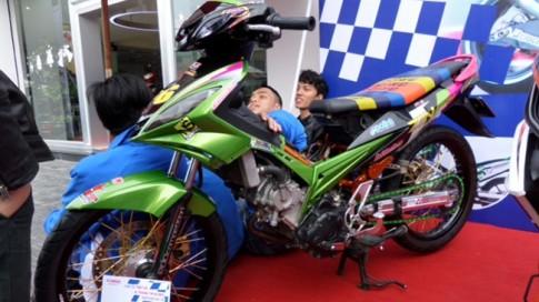 Hội thi trang trí xe đẹp Yamaha 2013 tại Đà Nẵng