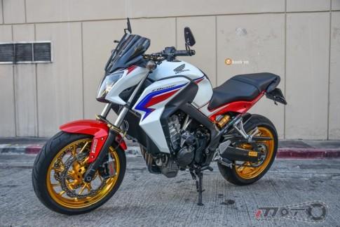 Honda CB650F bản độ đầy nổi bật và phong cách tại Thái Lan