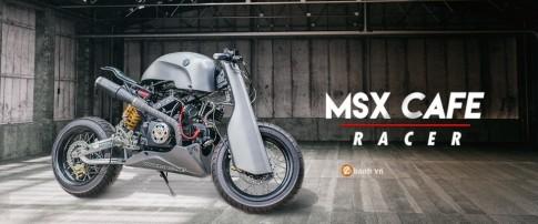 Honda MSX do sieu an tuong voi phien ban Cafe Racer
