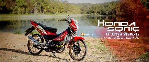 Honda Sonic độ đầy phong cách cùng dàn đồ chơi đắt tiền