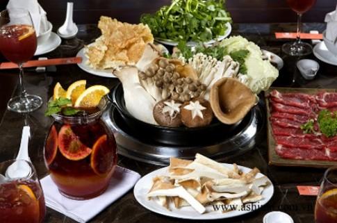 Hương vị lẩu đặc trưng tại Ashima