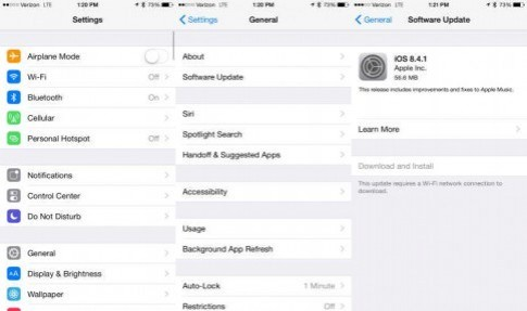 iOS cập nhật bản mới, tập trung sửa lỗi Apple Music