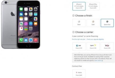iPhone 6 bản quốc tế sẽ có giá thấp nhất là 13,5 triệu VNĐ