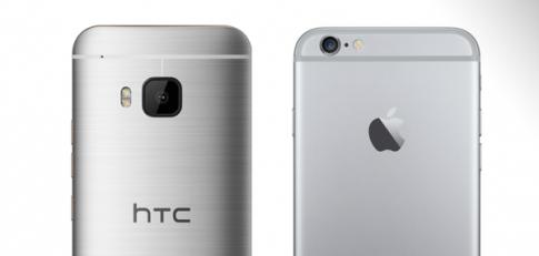 iPhone 6 và HTC M9 đọ độ bền