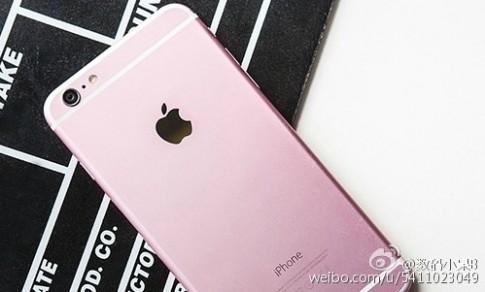 iPhone 6s màu hồng sẽ trông như thế nào?