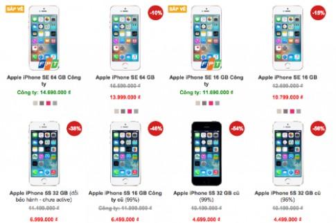 iPhone SE chính hãng bán từ 12/5, giá cao nhất gần 15 triệu đồng