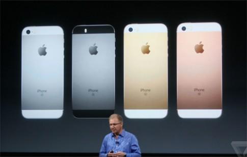 iPhone SE man hinh 4 inch ruot iPhone 6s gia tu 399 USD
