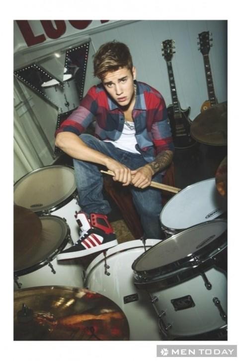 Justin Bieber đơn giản và khỏe khoắn trong chiến dịch thu đông 2013 của Adidas NEO