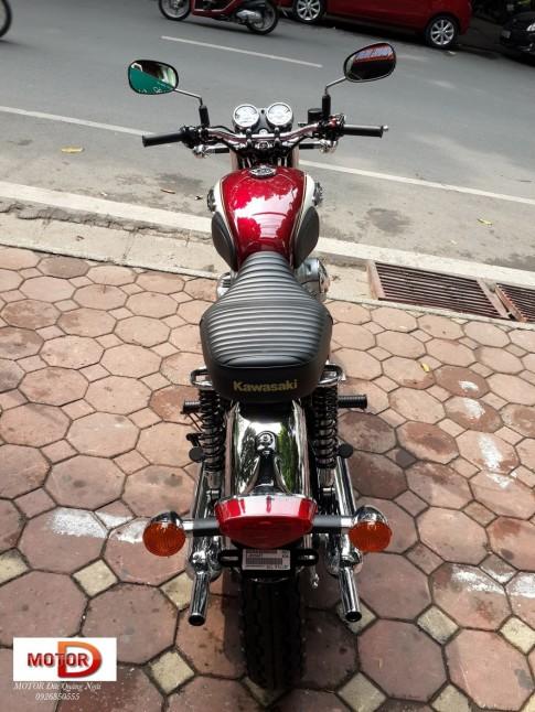 Kawasaki W800 - mẫu xe Retro hàng hiệu thế giới