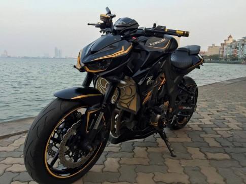 Kawasaki Z1000 2014 độ đầy mê hoặc của một Biker Hà Thành