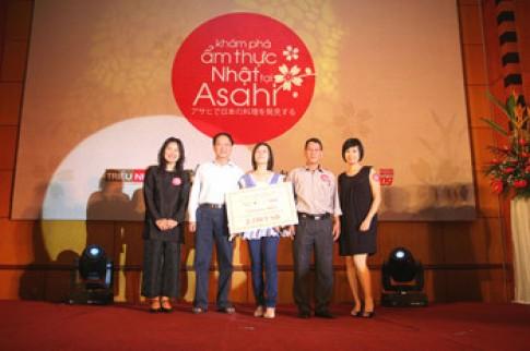 Kết thúc cuộc thi 'Khám phá ẩm thực Nhật tại Asahi'