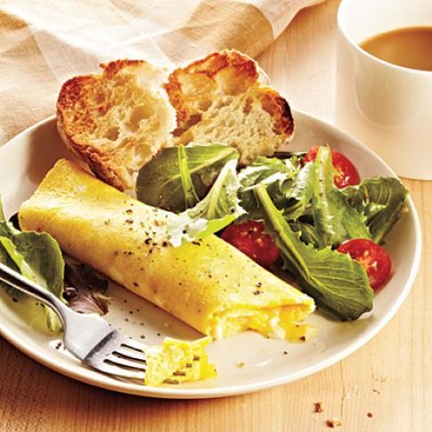 Khéo léo với món trứng tráng kiểu Pháp