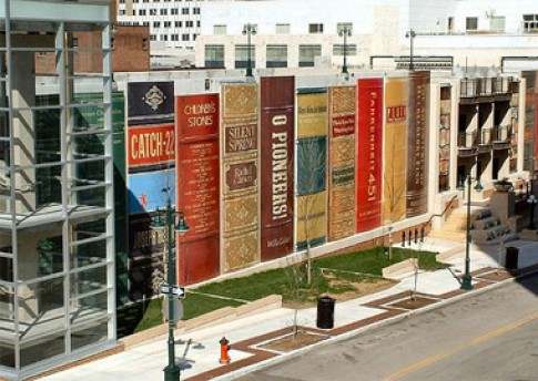 Khi sách và kiến trúc 'gặp' nhau