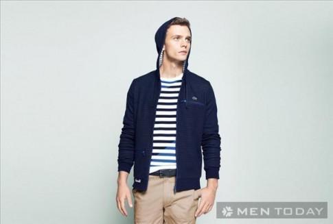 Khỏe khoắn với lookbook thời trang nam thu đông 2013 từ Lacoste