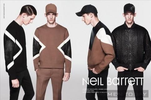Khỏe khoắn với trang phục thu đông 2013 từ Neil Barrett