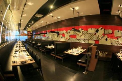 Không gian ấn tượng của nhà hàng SumoBBQ thứ 9