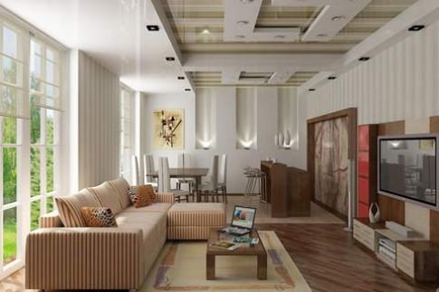 Khúc biến tấu của gỗ trong trang trí nội thất