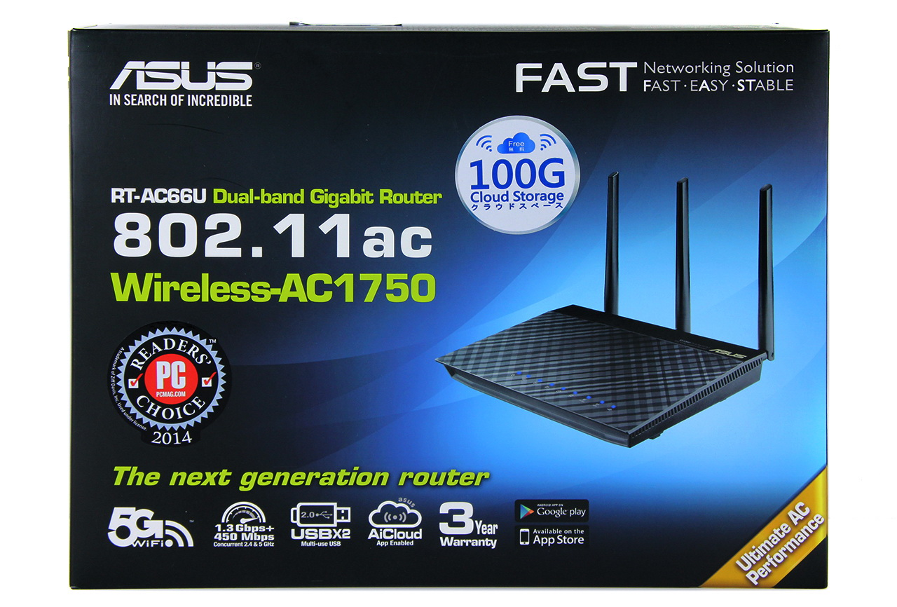 Khui hộp Router ASUS RT-AC66U
