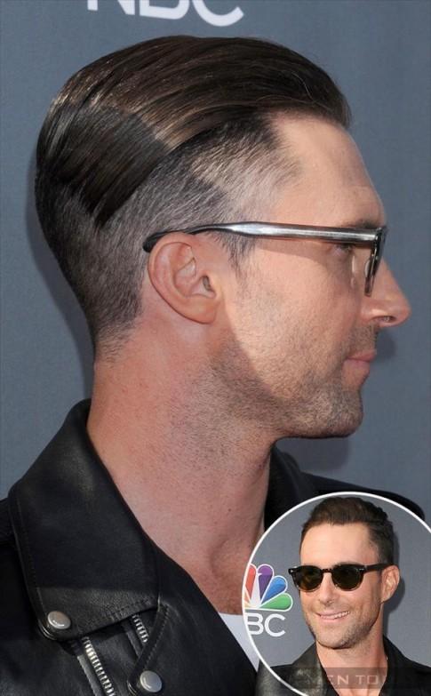 Kiểu tóc mới cực ấn tượng của Adam Levine