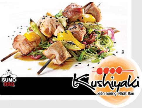 Kushiyaki - xiên nướng Nhật Bản đúng điệu tại SumoBBQ