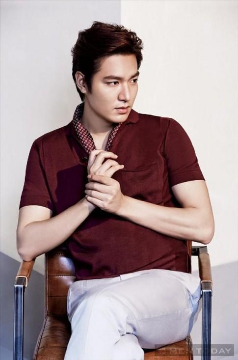 Lee Min Ho lịch lãm trên L'officiel Hommes Korea