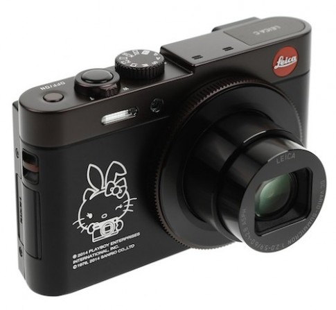 Leica C phien ban hop tac voi Playboy va Hello Kitty